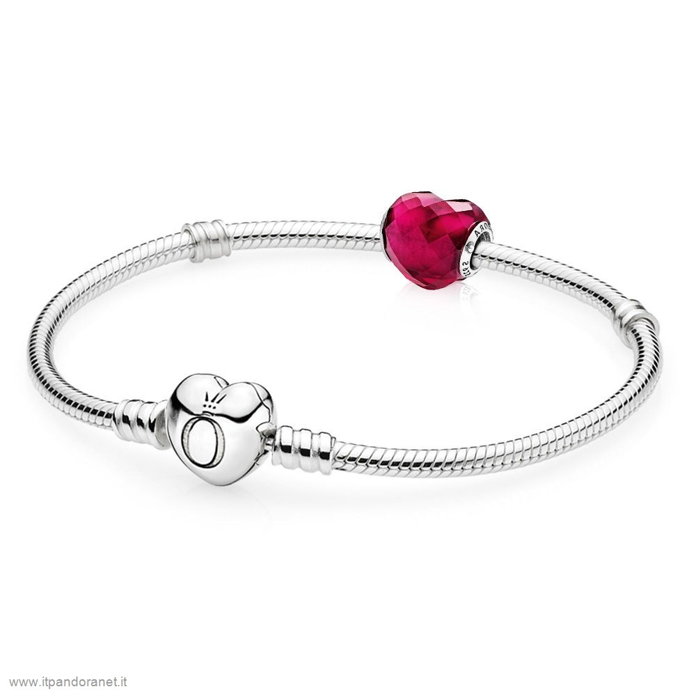 PANDORA Acquista Sconto Shape Of Amore Bracelet Regalo